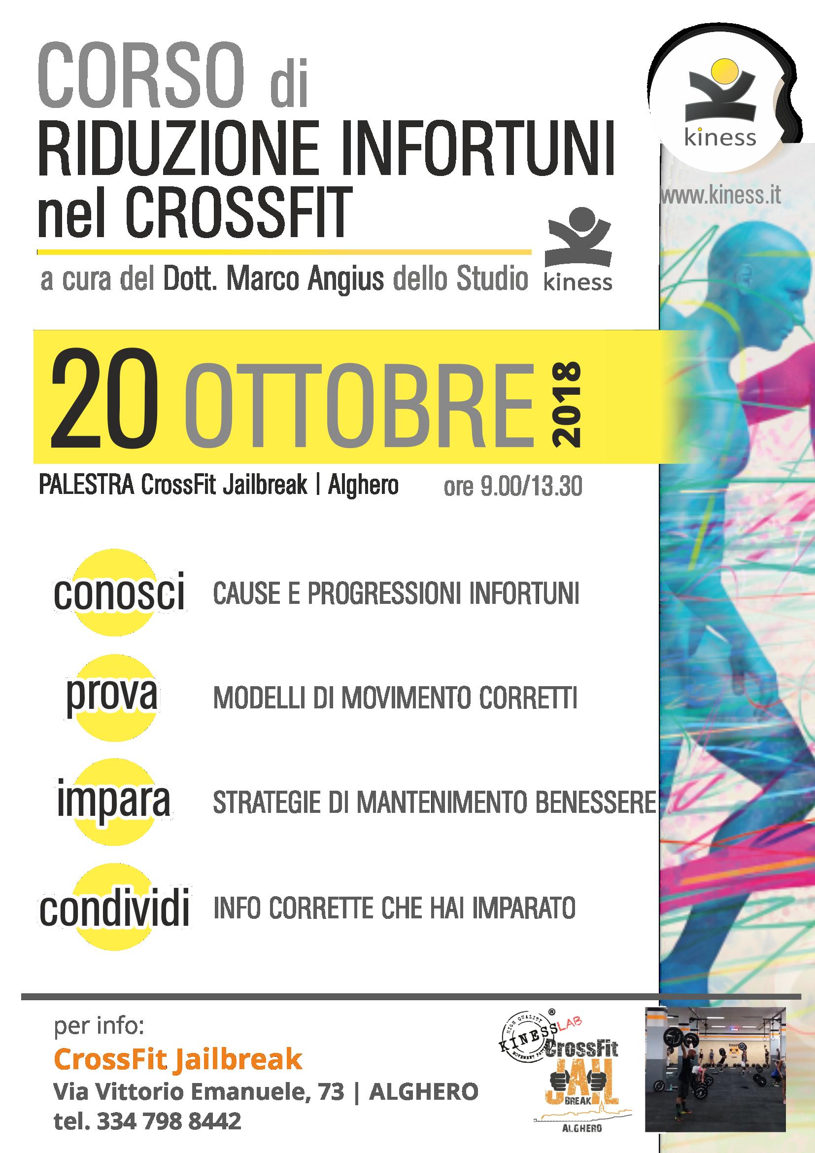 locandina Corso 20 Ottobre2